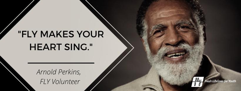 FLY Volunteer, Advisor, and Beloved Elder: Arnold Perkins